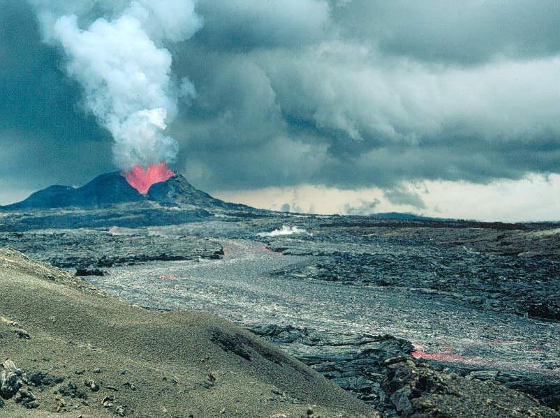 zwei vulkane hawaii